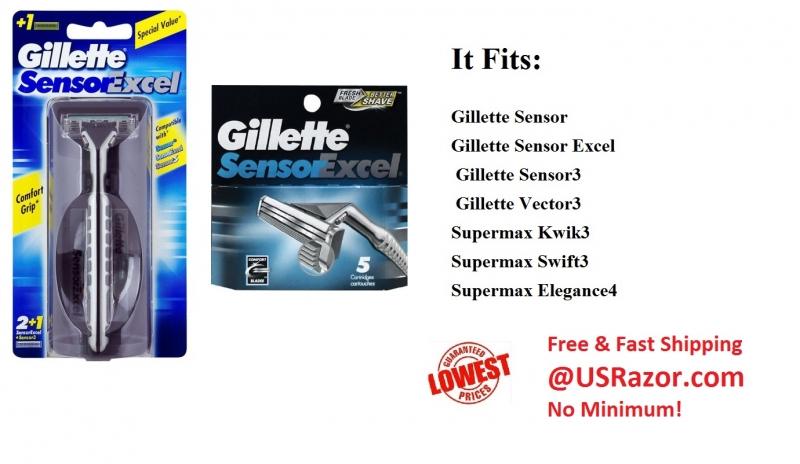 how to find old handle for gillette sensor excel women