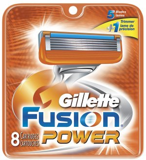 8 Gillette Fusion Power Razor ..