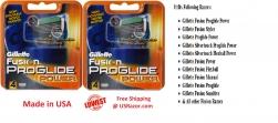 8 Gillette FUSION Proglide Pow..
