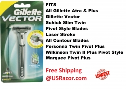 Gillette Vector Fits Atra Plus..