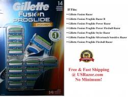 14 GILLETTE FUSION Proglide Po..