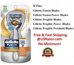 Silver Flex Ball Gillette Fusion Proglide Manual Razor