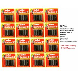 80 Gallant Blades Fits Gillette Trac II Plus Razor Twin Cartridge