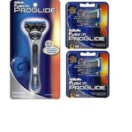 9 Gillette FUSION Proglide Manual Razor Blades Cartridges Shaver Fits Flexball
