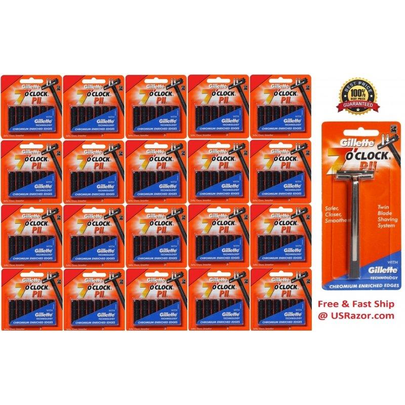 101 Gillette Trac Ii Razor Cartridges Refills Non