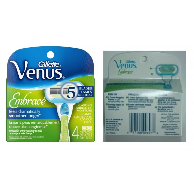 Venus embrace refill coupons