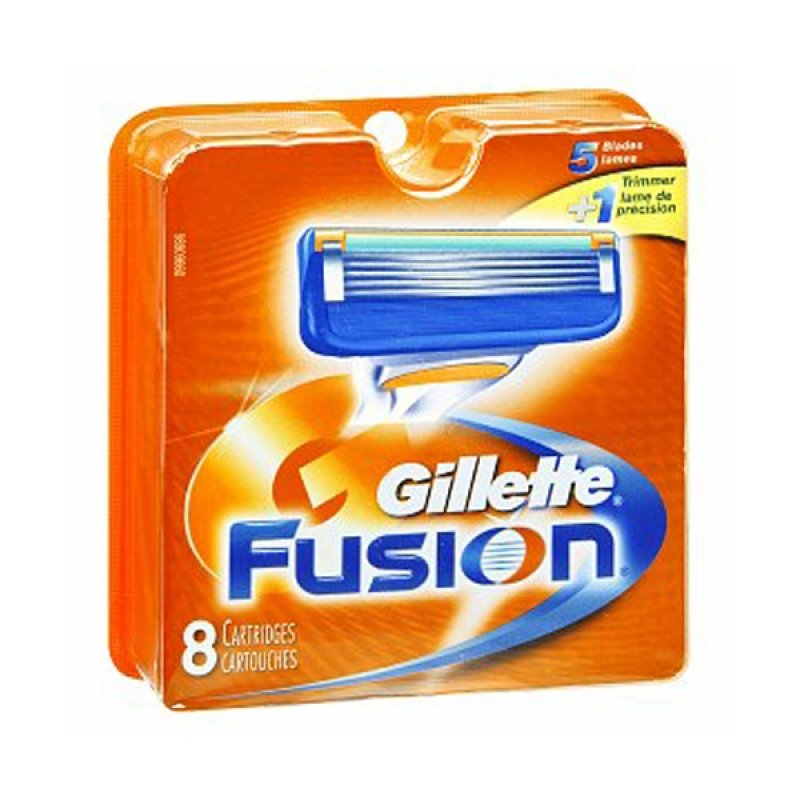 32 gillette fusion razor blades cartridges refills shaver for 1 2 3 fusion
