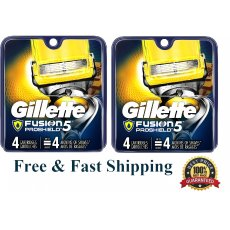 8 Gillette Fusion 5 Proshield Flexball Blades Cartridge fit Power Razor