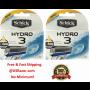 8 Schick Hydro 3 Razor Blades Cartridges 2x4 Hydro3 Shaver Refill