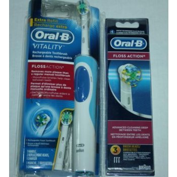 Braun Oral B Vitality Floss Action Rechargeable Toothbrush