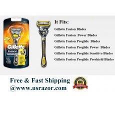 Gillette Fusion Proshield Flexball Razor handle Cartridge Flex Ball Shaver